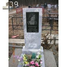 Памятник из мрамора стандарт 39 — ritualum.ru